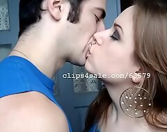 Wes with an increment of Taylor Kissing Video3