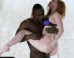 Euro redhead fucked at the end of one's tether her sinister day