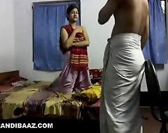Juvenile desi maid constant drilled