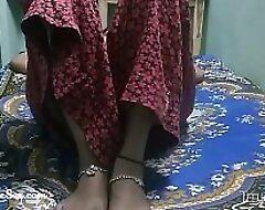 hot telugu desi wife fissure their way feet down taking big load of shit inner their way