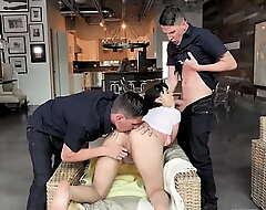 Leda Lothario making her stepbrothers keep her dirty secret