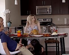 Girlhood Violet Rain and Lexi Tutelage love taboo fuck and deployment stepbrothers chubby cock