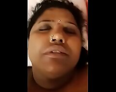 Tamil Mami charge from this babe relative boy