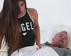 Supportive Daddy Whim Sex Daughter - FamilySTROKE porn  HD Porn
