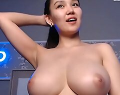 Multiple Orgasms with a stunning hot Huge Tits Asian.camsrose.com