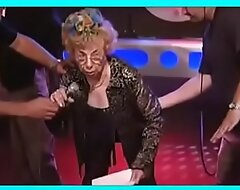81 year old, granny gets spanked on the Howard Stern Show