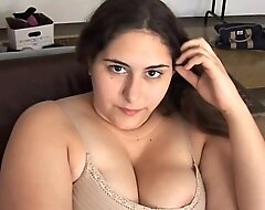 Beautiful gaffer obscurity BBW has a soaking wet pussy