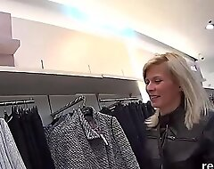 Striking czech girl is tempted in be passed on supermarket and pounded in pov