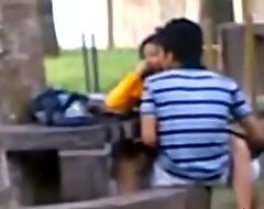 Indian fuck movie College Students Fucking all round recall c raise park Voyeur Recorded by people