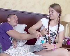 Compressed Stepsister Tempted in Fellow-feeling a amour