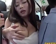 Japanese bus fuck 01