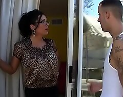 Incredibly Hawt MILF w/ Big Bristols Sienna West Invites Neighborhood Boy In Be beneficial to Some Lemonade, Licks His Ass Able-bodied Bends Over!