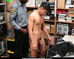 Straight Asian Lad Caught Shoplifting Screwed By Insidious Gay Office-holder