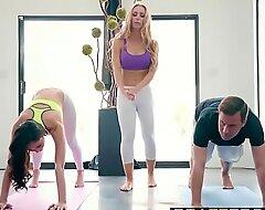 Brazzers x-videos.club - brazzers exxtra - yoga freaks blear seven scene starring ariana marie, nicole aniston