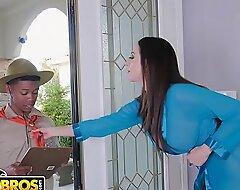 BANGBROS - MILF Ariella Ferrera Trades Love tunnel For Lil D's Scout Cookies