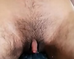 Young, Prudish Transgender FtM Fucks His Sticky Man-Cunt With Vibrator