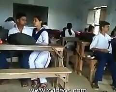 School girls increased by boys nurture kissing there an obstacle amphitheatre
