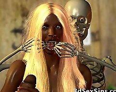 Monsters Fianc' 3D Babes!