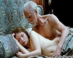 Emily Browning really nude and lingerie scenes