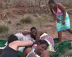Real african safari coitus fuckfest