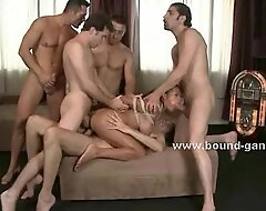 Prostitute dreams unequalled gangbang sex