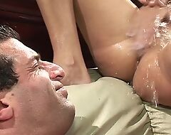 Cock-craving sluts acting wild in fantastic group action