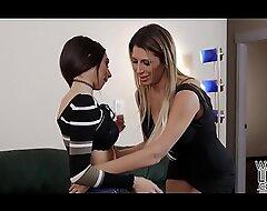 Prexy lesbians Darcie Dolce and Makayla Cox