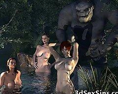 3D Giants Profitability Cute Girls!